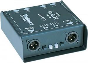 DI-box Palmer stereo